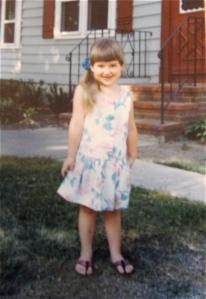 Rachel at four