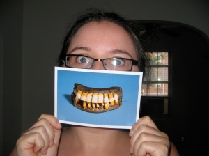 Me with teeth
