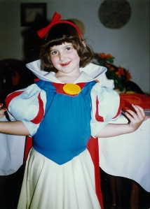 Rachel as snow white