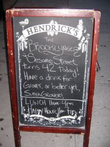 Brooklyneer bar sign