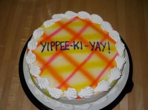 Die Hard Cake