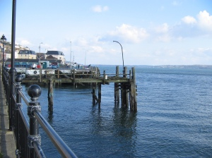 A dock in Cobh