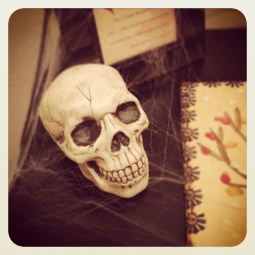 Skull and webs