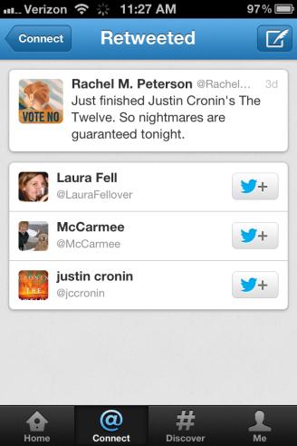 Twitter Screen