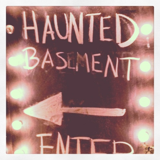 Haunted Basement Entrance