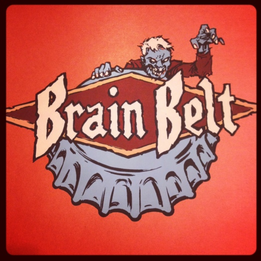 Brain Belt print by DWITT
