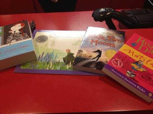 Four children's books