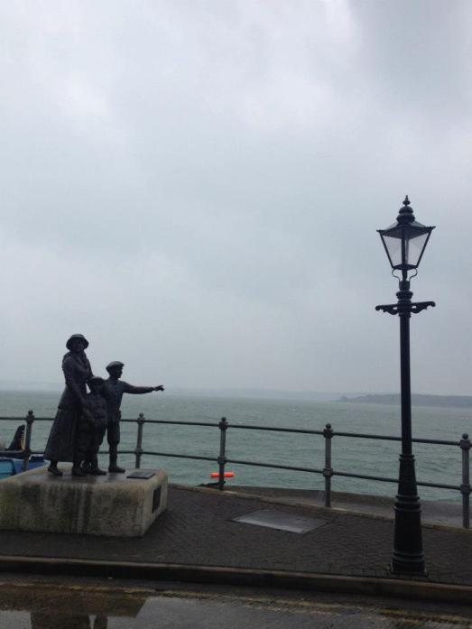 Annie Moore was the first emigrant processed through Ellis Island in 1892, and she departed from Cobh.