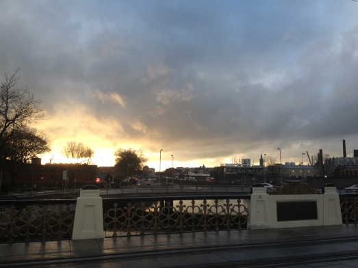 But you will also get to watch the sunrise over the Liffey, if you are into beautiful things.