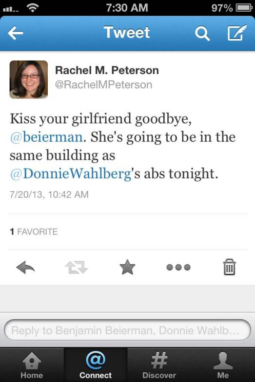 I also engaged in some trash-talking.